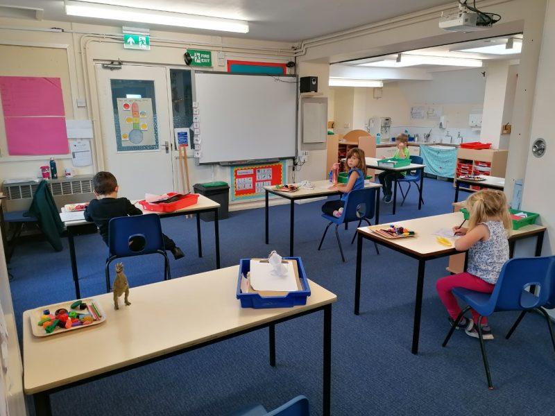 Bubble 3 Classroom Layout
